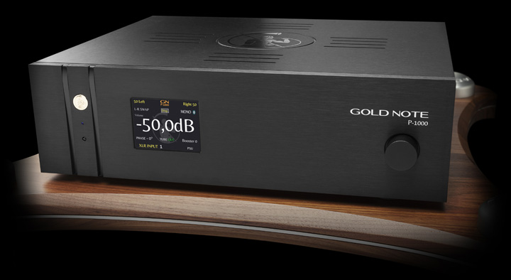 Gold Note P-1000 Solid State Preamplifier 01