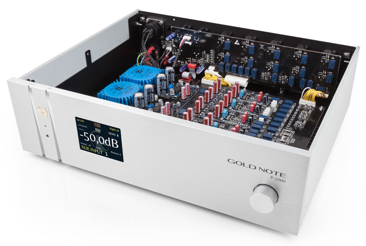 Gold Note P-1000 Solid State Preamplifier 02