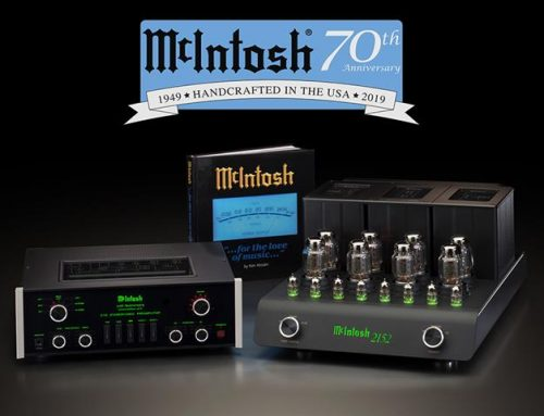 McIntosh Celebrates 70th Anniversary with Limited Edition Commemorative System