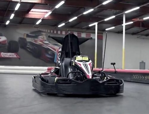 Virtual Reality Go-Karting from BlackTrax