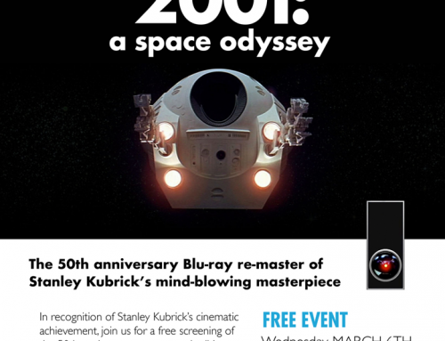 2001: A Space Odyssey – Screening at The Paul Morin Gallery in Alton, Ontario
