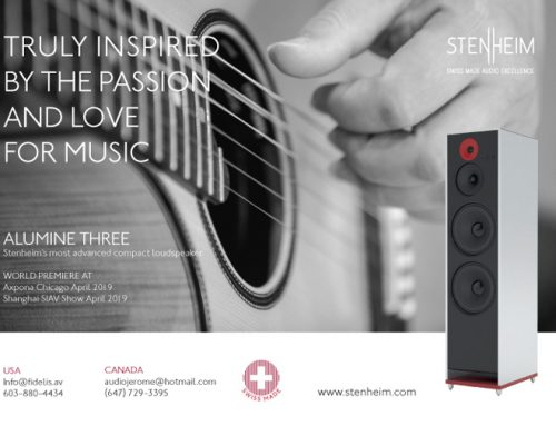 Stenheim Reveals the Alumine Three, Its Most Advanced Compact Speaker
