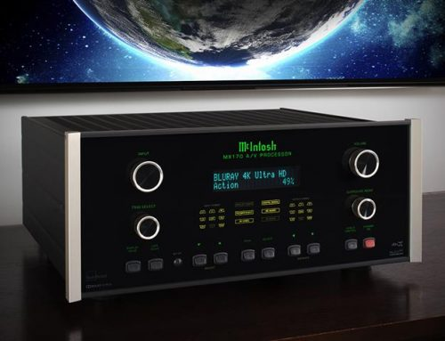 McIntosh Intros New Home Theater Products: 2 AV Processors and 5-Channel Amplifier