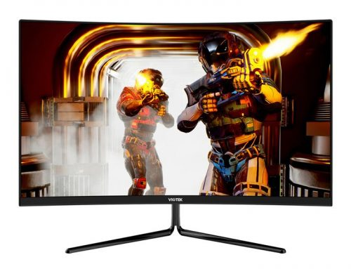 Voitek GNV27DB 2k Curved Screen 144Hz Gaming Monitor