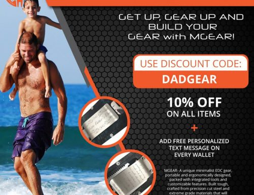 MGear: Perfect Gifts For Father's Day (June 21). Personalized MGear Products