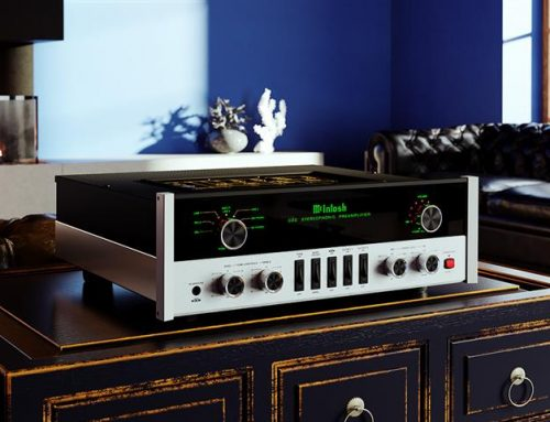 Product News: McIntosh C22 Vacuum Tube Preamplifier Mk V