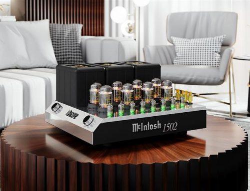 Product News: McIntosh MC1502 Vacuum Tube Amplifier