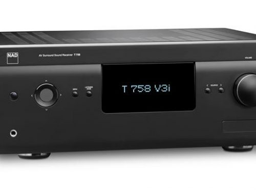 Product News: NAD T 758 V3i Surround Sound Receiver