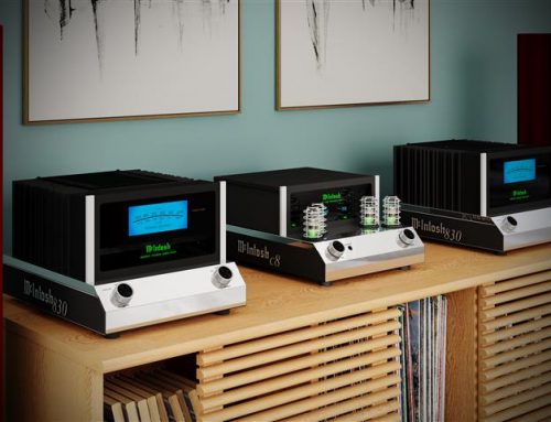 Product News: McIntosh MC830 Solid State Amplifier and C8 Vacuum Tube Preamplifier